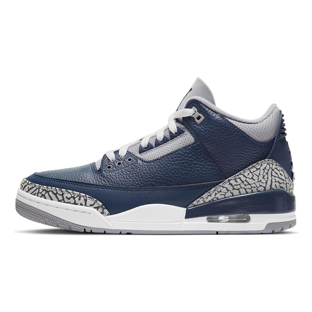 Tenis-Air-Jordan-3-Retro-Masculino-Azul