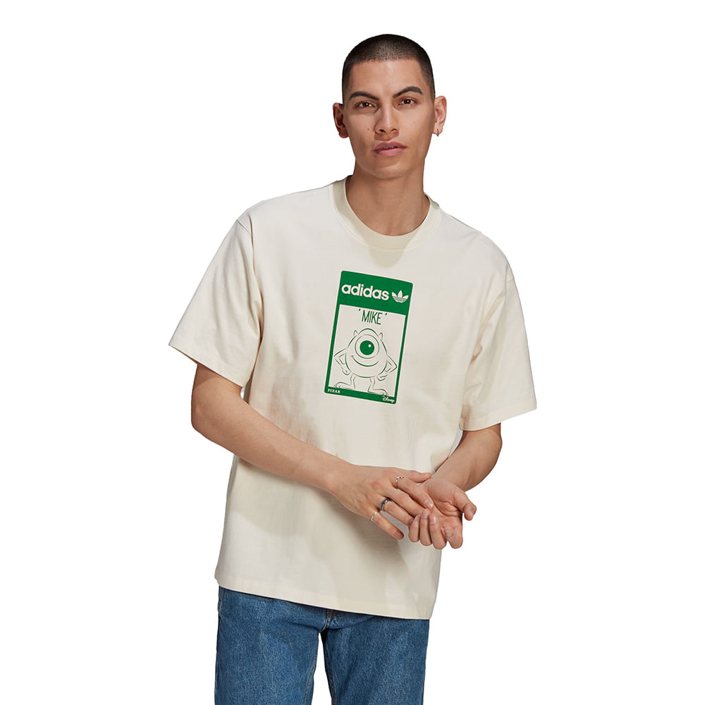 Camiseta-adidas-Mike-Branca