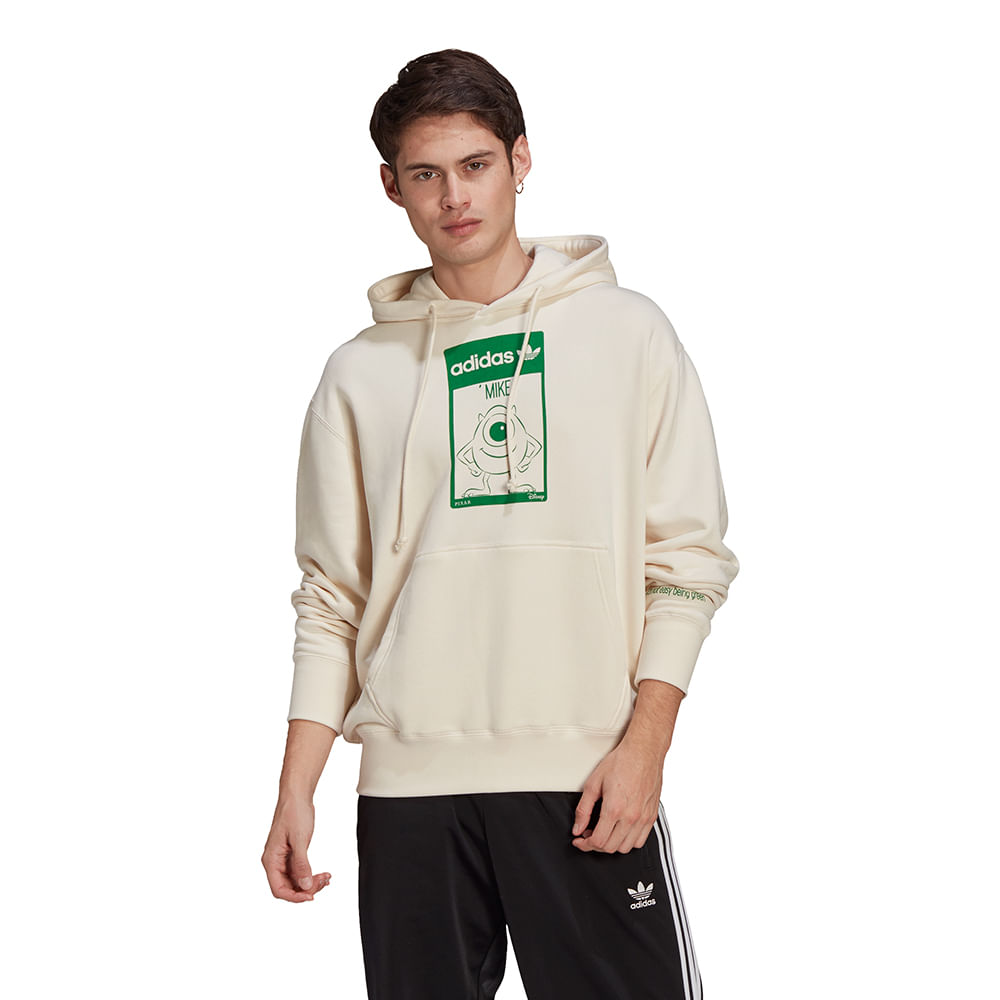 Blusao-adidas-Hoodie-Mike-Bege