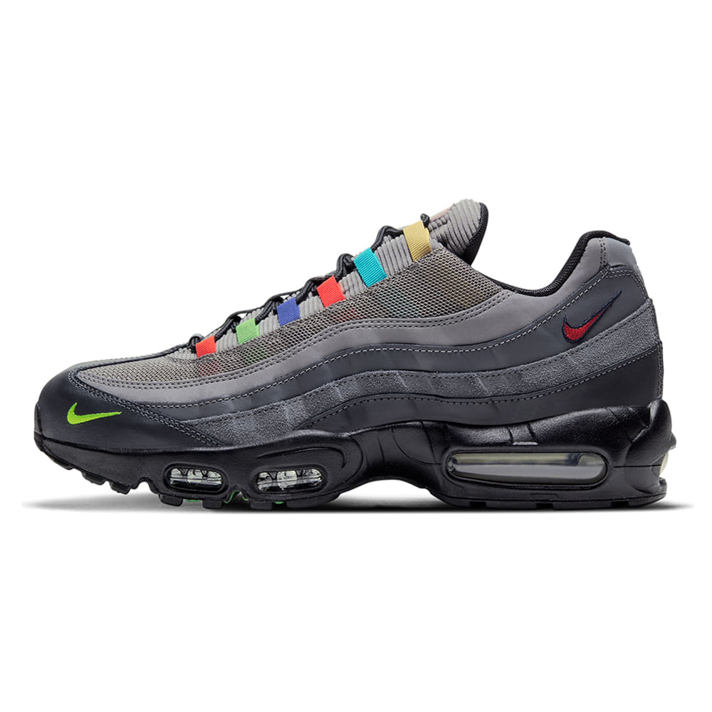 Tenis-Nike-Air-Max-95-SE-Masculino-Cinza