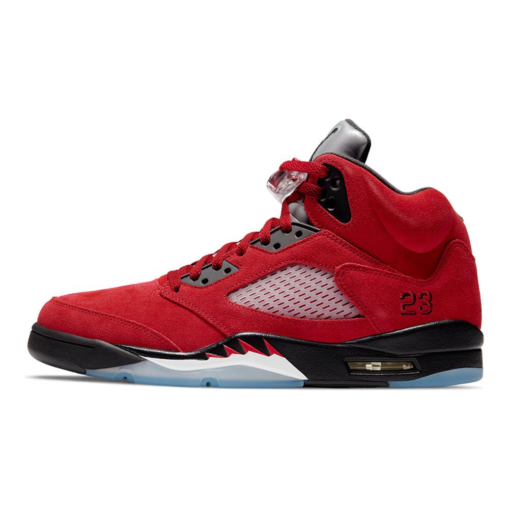 Tenis-Air-Jordan-5-Retro-Masculino-Vermelho