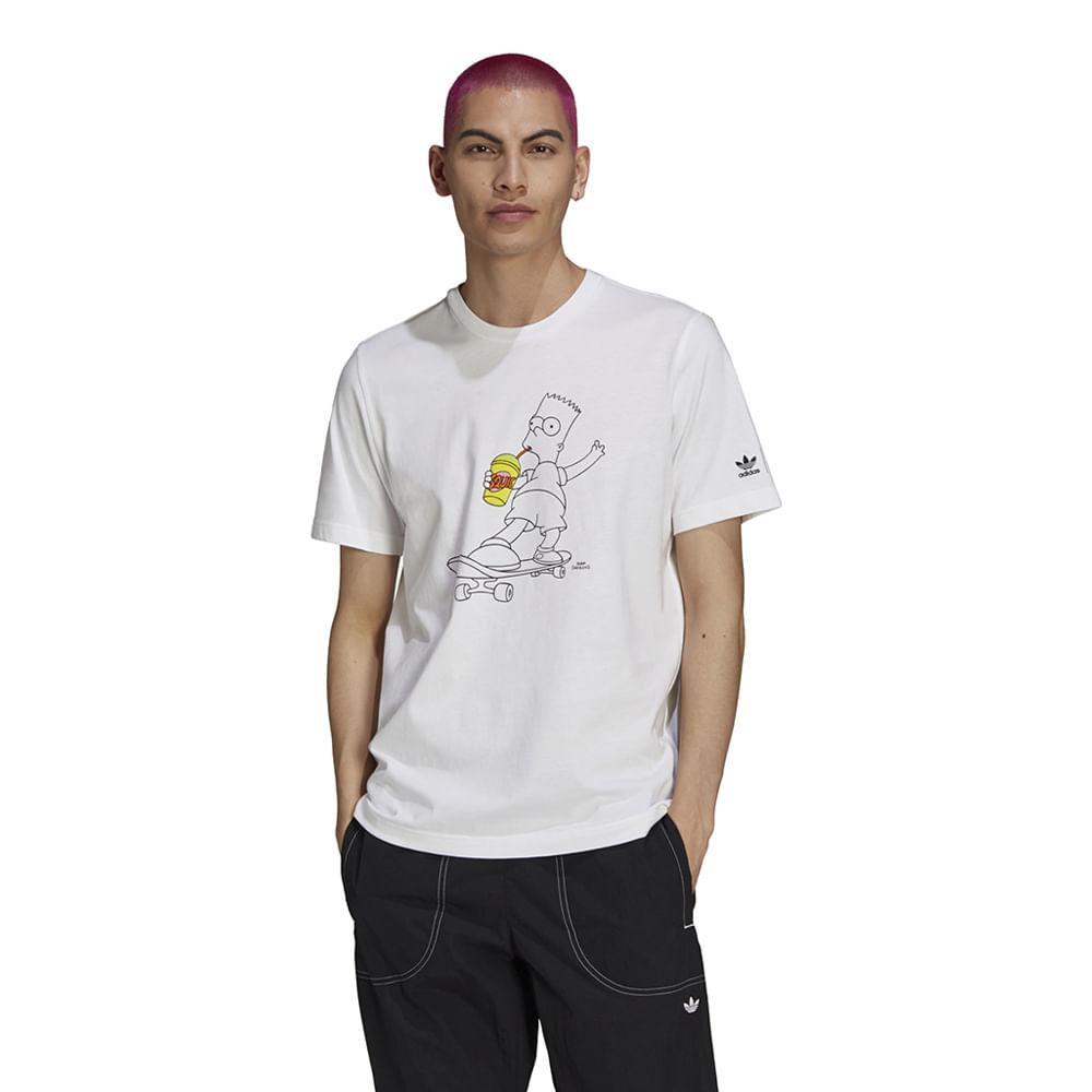 Camiseta-adidas-X-The-Simpsons-Masculina-Branca
