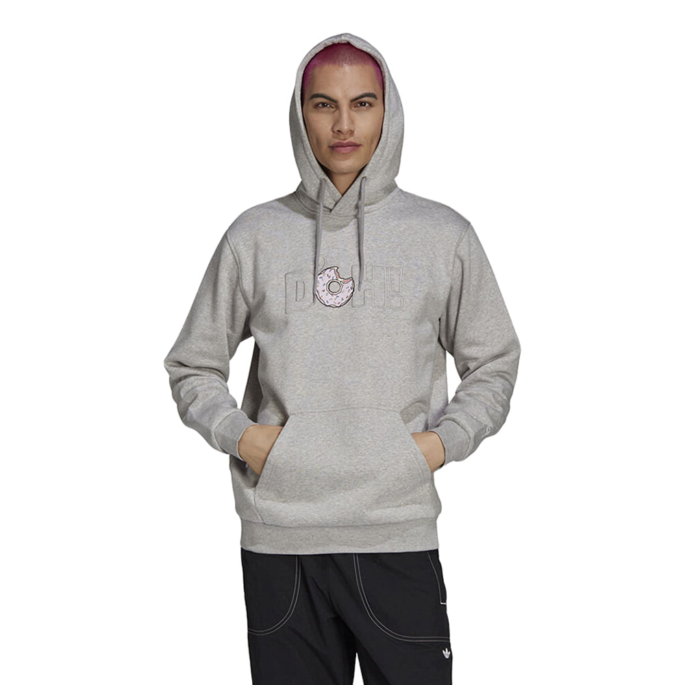 Blusao-adidas-X-The-Simpsons-D-Oh-Masculina-Cinza