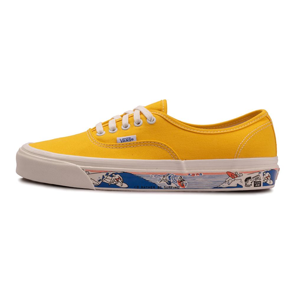 Tenis-Vans-Authentic-44-DX-Amarelo