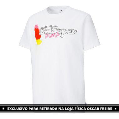 Camiseta-Puma-x-Kidsuper-Studios-Masculina-Branca