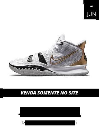 15-06-2021 - Tênis Nike Kyrie 7 Metallic Gold