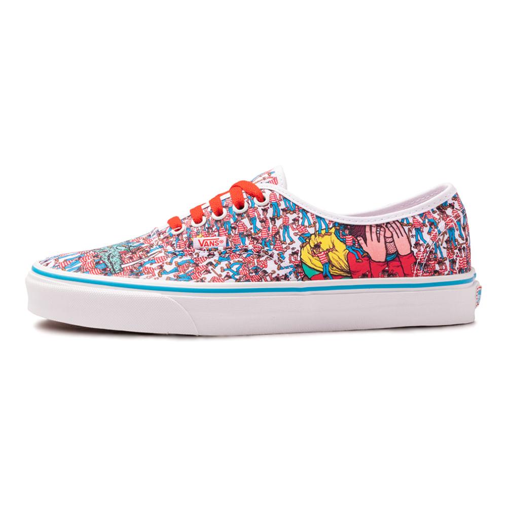 Tenis-Vans-Old-Skool-x-Where-s-Waldo-Multicolor