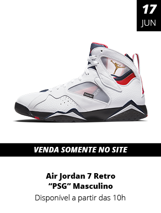 17-06-2021 - Tênis Air Jordan 7 Retro PSG