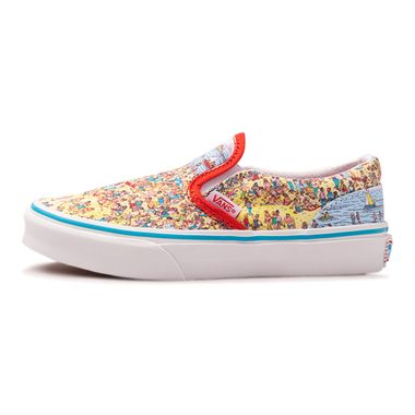 Tenis-Vans-Classic-Slip-On-X-Where-s-Waldo-Multicolor