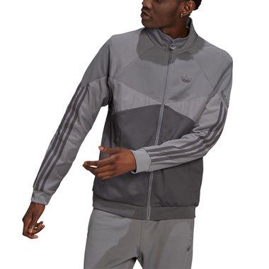 Jaqueta-adidas-Sprt-Colorblock-Masculina-Cinza