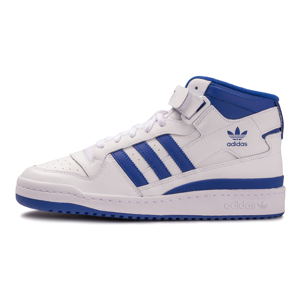 Tenis-adidas-Forum-Mid-Masculino-Branco