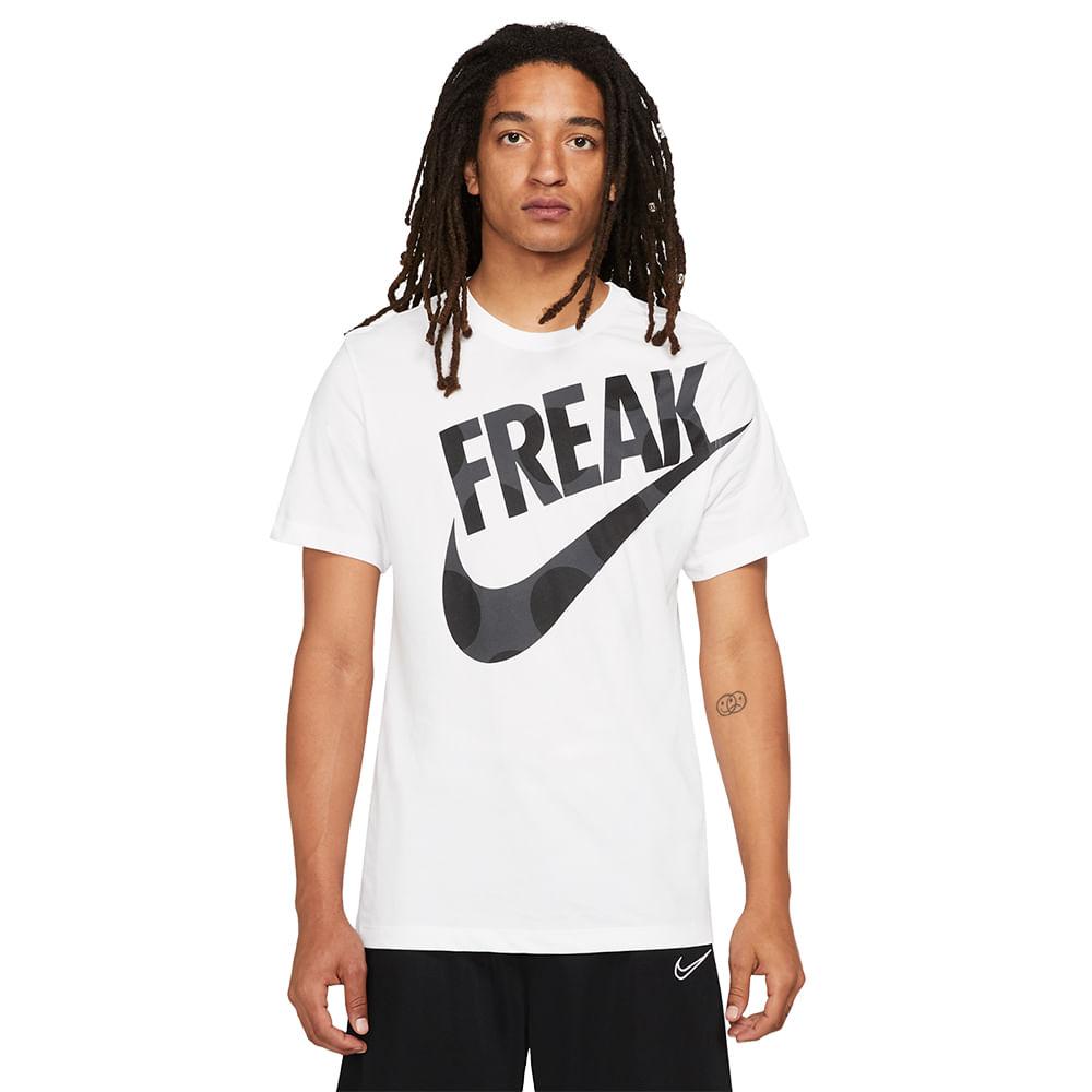Camiseta-Nike-Dri-fit-Giannis-Freak-Printed-Masculina-Branco