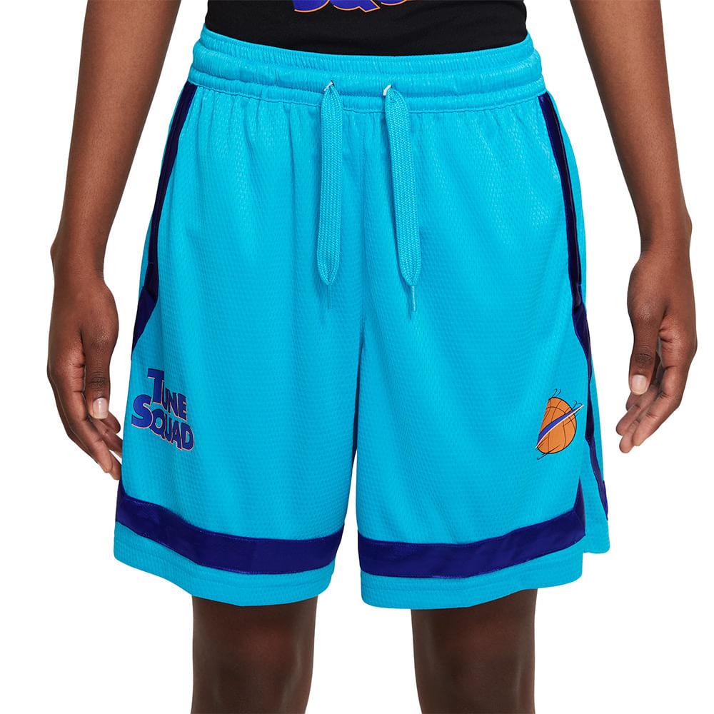 Shorts-Nike-Fly-X-Space-Jam-2-Feminino-Azul