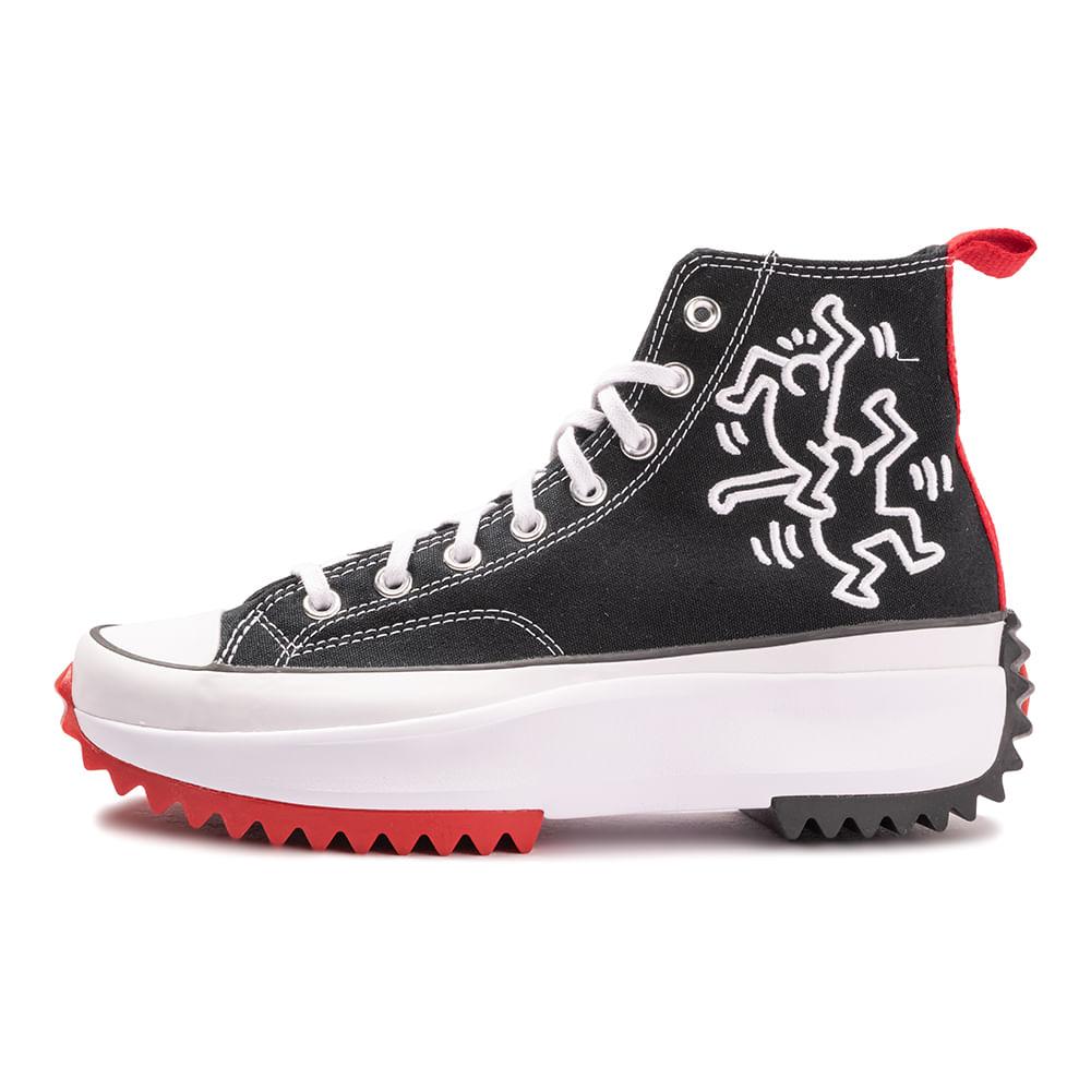 Tenis-Converse-Run-Star-Hike-X-Keith-Haring-Multicolor