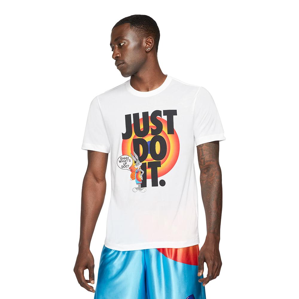 Camiseta-Nike-Dri-FIT-x-Space-Jam-2-Masculina-Branca