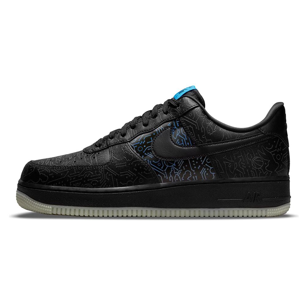 Tenis-Nike-Air-Force-1-07-x-Space-Jam-Masculino-Preto