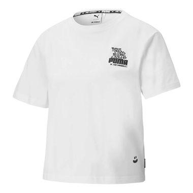 Camiseta-Puma-X-Mr-Doodle-Feminina-Branca