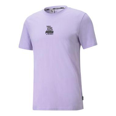 Camiseta-Puma-X-Mr-Doodle-Masculina-Lilas