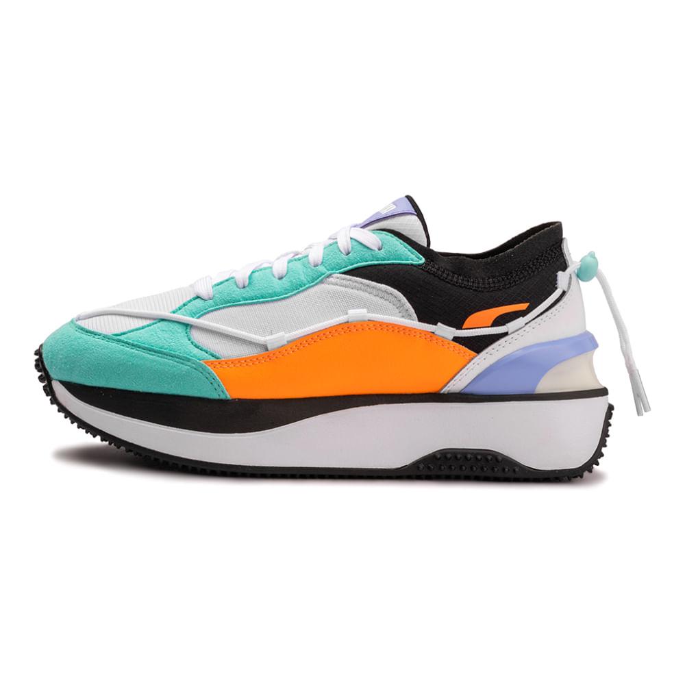 Tenis-Puma-Cruise-Rider-Lace-Feminino-Multicolor