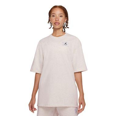 Camiseta-Jordan-Essentials-Feminino-Bege