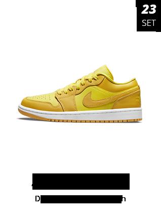 23-09-2021 - Jordan 1 Low Yellow Strike