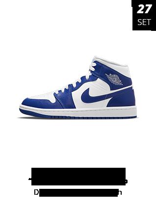 27-09-2021 - Jordan 1 Mid Kentucky Blue