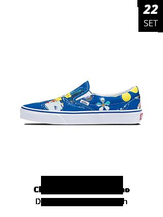 22-09-2021 - Vans Bob Esponja Classic Slip-On