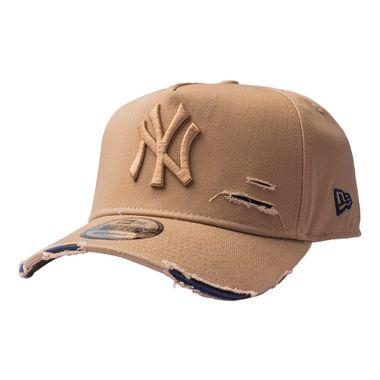 Bone-New-Era-940-Af-St-Destroyed-Yankees-Marrom