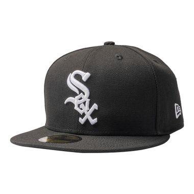 Bone-New-Era-59Fifty-MLB-Chicago-White-Sox-Preto